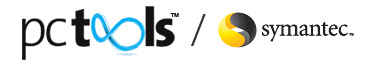 PCTools and Symantec Logos