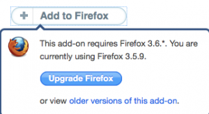 Upgrade Firefox to use QuickBooks
