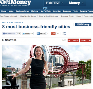 Screenshot of CNNMoney.com article